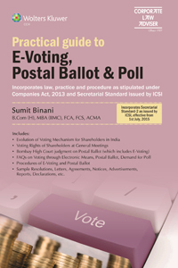 Practical Guide to E-Voting, Postal Ballot & Poll